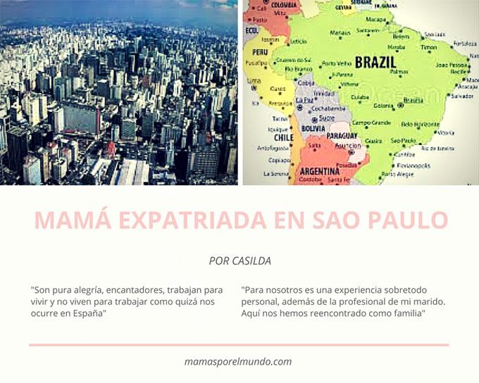Mamá expatriada en Sao Paulo