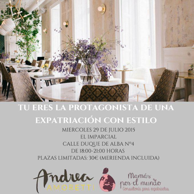 PRIMER EVENTO DE MAMAS POR EL MUNDO EN MADRID